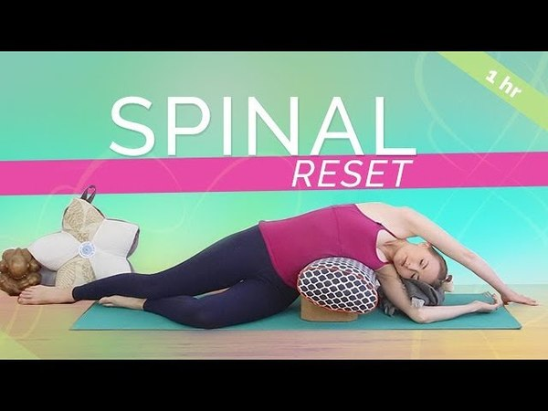 Yin Yoga for Total Spinal Reset (60-min) Yoga for Back Pain