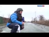 Расстрел россиянами дома в Углегорске из танка. Как россия снимает фейки.