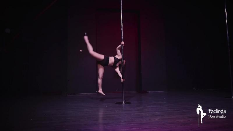 Надежда Маслихина - Artistic Pole Dance - отчетный концерт Studio Feelings
