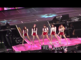 170826 A-nation Red Velvet () - Russian Roulette Short ver. fancam