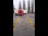 Уровень вождения дальнобойщик