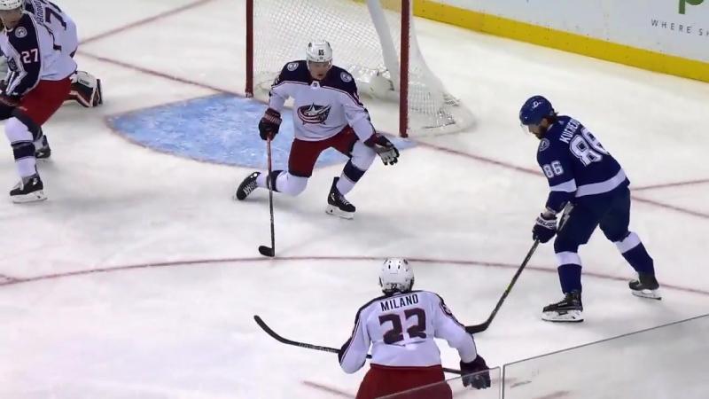 НХЛ 17-18 14-ая шайба Кучерова 04.11.17