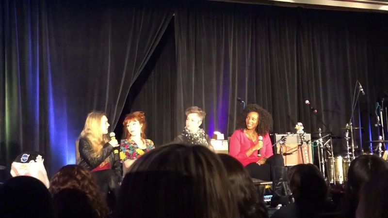 Supernatural Montreal Convention 2018 - Ladies of Supernatural talking about nude scenes in scripts