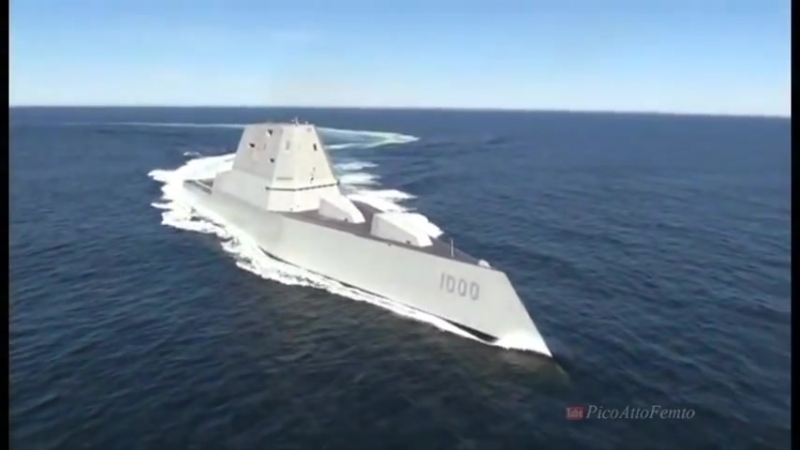USS Zumwalt (DDG-1000) Time Lapse and Sea Trial_HIGH.mp4