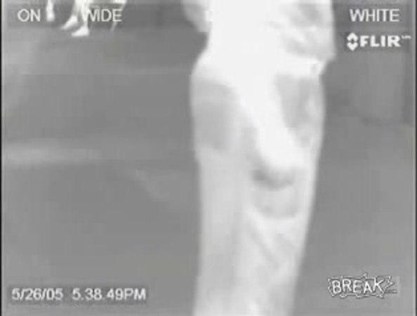 опасайтесь инфракрасной камеры в аэропорте