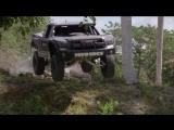 Trophy Truck 800 horse power. Driver BJ Baldwin. Cuba