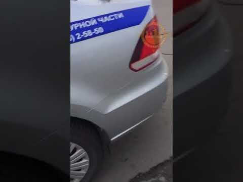 Девушка водитель не справилась с управлением. КНП за Солнечным
