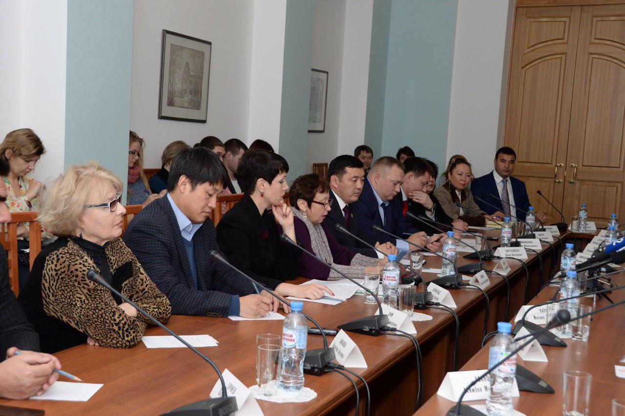 встречи врио губернатора Омской области Буркова Александра Леонидовича с руководителями национальных общественных объединений
