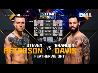 FIGHT NIGHT AUSTIN Steven Peterson vs Brandon Davis