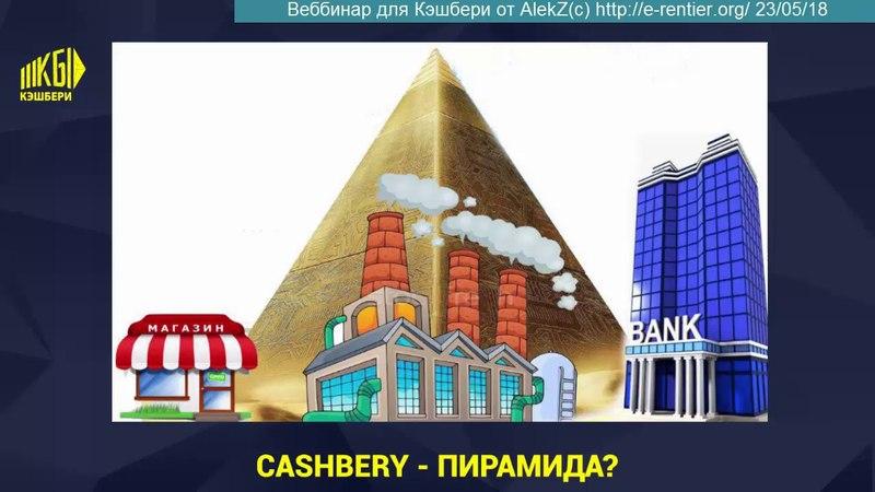 ALEKZ(c) КЭШБЕРИ ВЕБИНАР-III (22.05.18) О ПИРАМИДАХ, ИСТИНАХ ДЕНЕГ, БЕЗОПАСНОСТИ В СЕТИ
