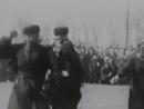 Проводы кубанских казаков на парад в Ростов. Ст.Ленинградская. 1936 год.
