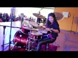 Bon Jovi - Its My Life LIVE Drum Cover by Nur Amira Syahira [Rip by Asat]