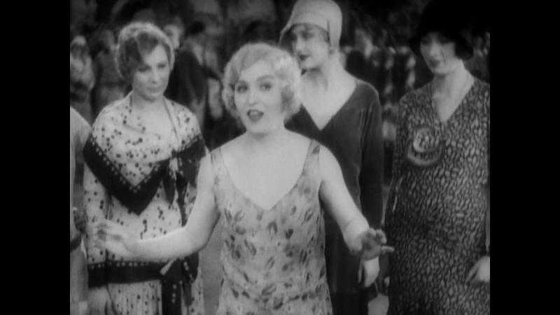 Mary Eaton And The Chorus With A Tune From 1929