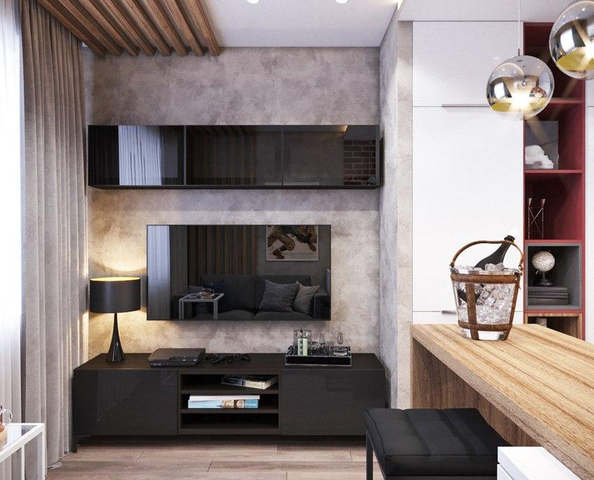 Проект квартиры 17 м.
