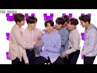 [RUS SUB] BTS So Happy Challenge with brent Rivera (Radio Disney Music Awards)