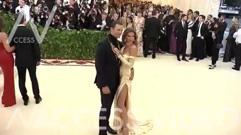 Tom Brady and Gisele Bundchen at the 2018 MET Gala