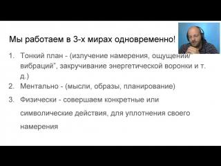 Виктор Толстиков О намерениях