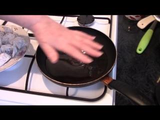 Секрет приготовления вкусного жареного минтая . Рыбные рецепты .