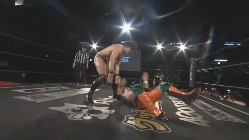 Daiki Shimomura vs. Mizuki Watase (DDT - Saki Akai Produce DDT Collection)