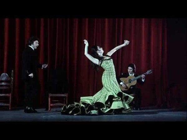 Enrique Morente y Enrique de Melchor - Peteneras - Al baile Sara Lezana. 1975