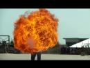 Как выглядит струя из огнемета в замедленной съемке