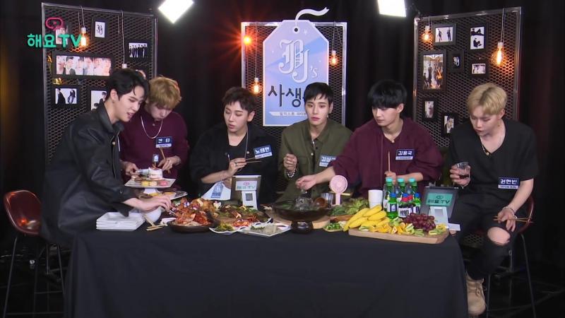 [JBJ] 데뷔 준비에 다이어트로 고생한 멤버들을 위해 준비한 특별 보양식! 한 상차림에 입이 떠억 해요TV JBJ의 사생활