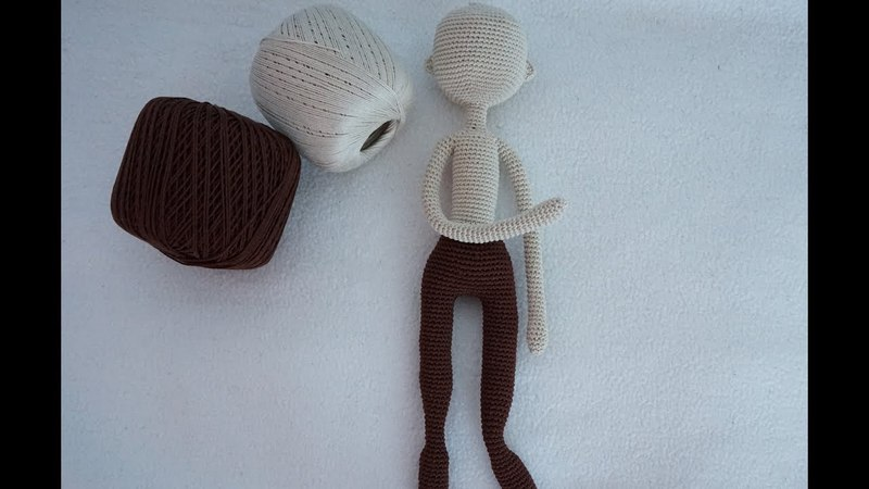 ( part 2) crocheted doll body