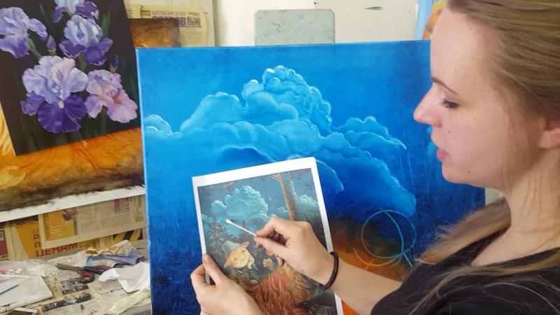Пишем облака с Надеждой Ильиной