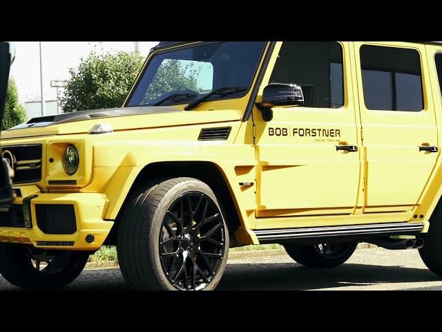 Праворукий Brabus G620. Желтый зверь за сумасшедшие деньги!
