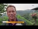 Schwarzenegger wird 70 Feier beim Weinbauern