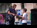 Слепой мальчик просит разменять 5 евро, но держит в руках 50 Социальный экспери