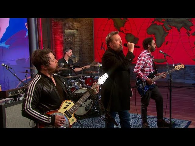 Saturday Sessions: Elbow performs Grounds for Divorce