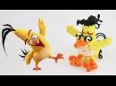 Чак Фигурка из резинок Злые птицы Angry birds movie Chuck