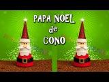 PAPA NOEL HECHO CON GOMA EVA