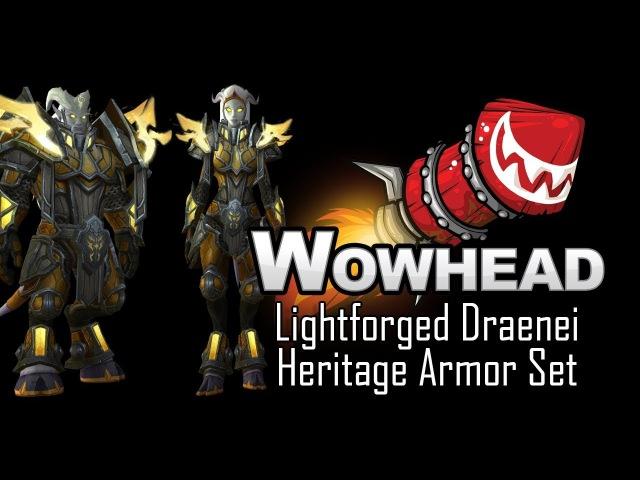 Lightforged Draenei Heritage Armor Set - Lightforged Armor