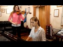 Сектор Газа - Туман кавер на скрипке и пианиноRMS Insight бас, баян, звук