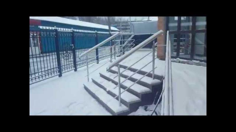 Финишный этап уборки Серпуховской торгово-промышленной палаты-заходим на объект-вступительная речь