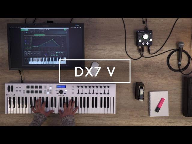 Arturia announces DX7 V