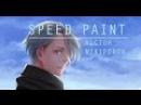 VIKTOR YURI ON ICE SpeedPaint Lulybot