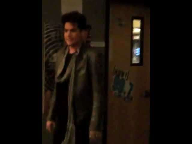 Adam Lambert Meet and Greet @99.7 studios San Francisco 1-20-2012!!