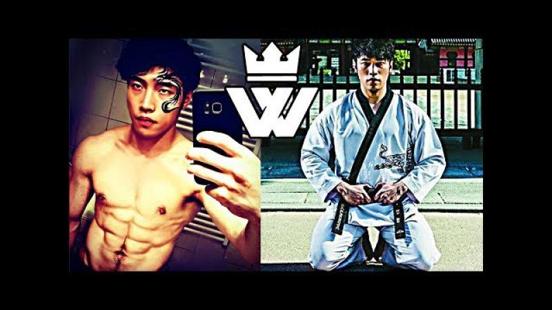 BEST TaeKwonDo Athlete - CRAZY HOOK KICK!!