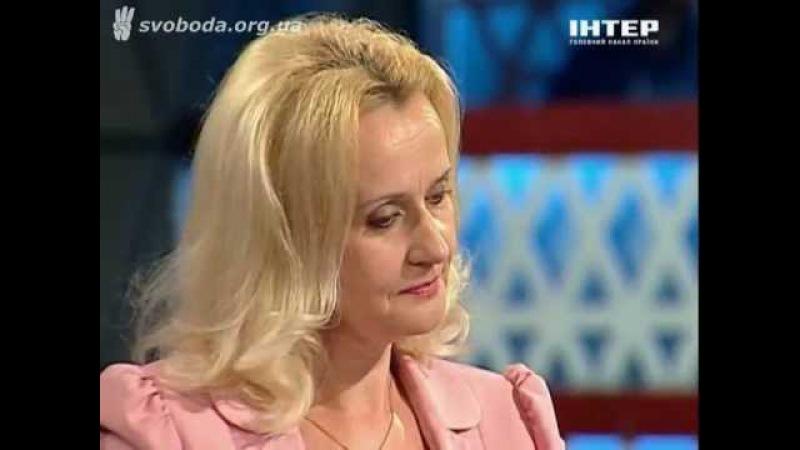 Ірина Фаріон про українофобський мовний законопроект