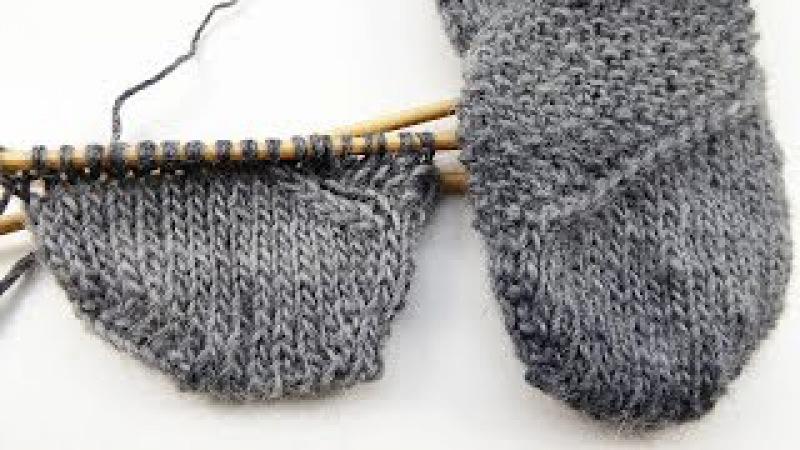 Nadelspiel Sockenkalender * Jänner 2015 * Mustersocken Pebbles * Teil 4 Muster gespiegelt