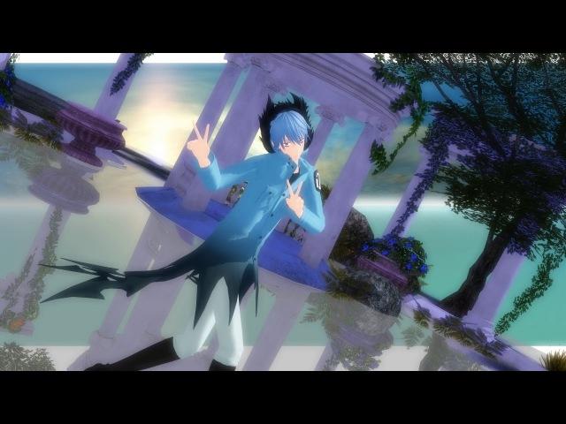 [MMd] Servamp - Deep Blue Town. (Kuro)