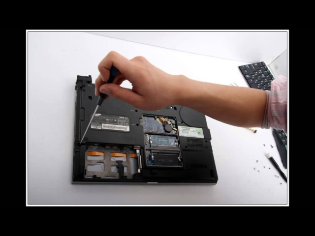 Samsung Sens NT-X11 노트북 분해(Laptop disassembly)