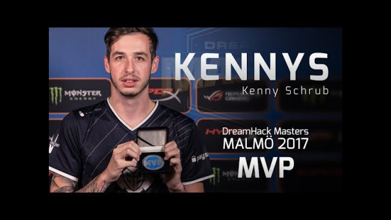 KennyS - HLTV MVP by ZOWIE of DreamHack Masters Malmö 2017