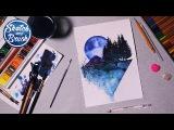 Уроки рисования: Акварельная иллюстрация. Как рисовать акварелью.