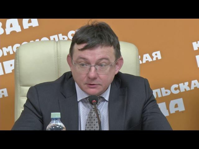 Пресс-конференция в Комсомольской правде