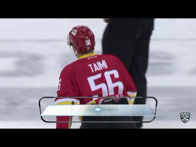 КХЛ (Континентальная хоккейная лига) - Моменты из матчей КХЛ сезона 16/17 - Гол. 2:1. Тайми Томми (К