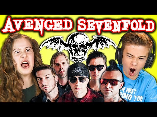 KIDS REACT TO AVENGED SEVENFOLD (Metal Band)